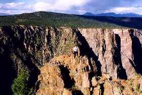 [Me at Canyon of the Gunnison on Top of Something]