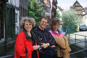 [With Gebhard, Hildegard and Cristina in Ulm, Germany]