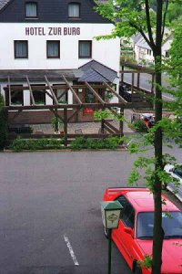 [Hotel Zurburg with Dr. James' Evo III Nearby]