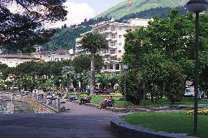 [The Park Surrounding Lake Maggiore in Locarno]