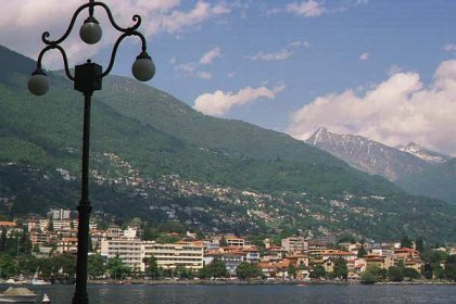 [A Picture Perfect Postcard View of Locarno, Switzerland]