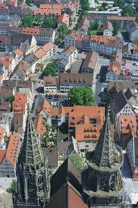 [The View of Ulm from the Church Tower]